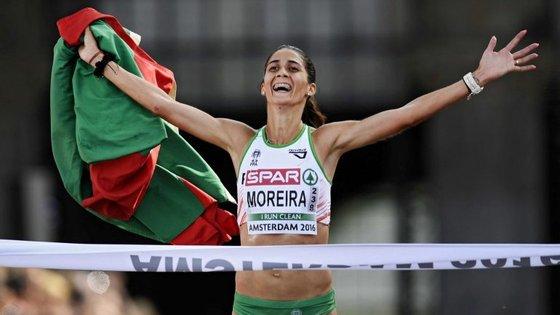 """""""Há dois anos estava aqui a iniciar o meu caminho no Sporting e o meu objetivo sempre foi continuar"""", admitiu Sara Moreira"""