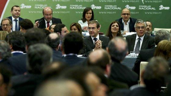 Conselho Nacional do PSD reuniu-se esta noite num hotel em Lisboa