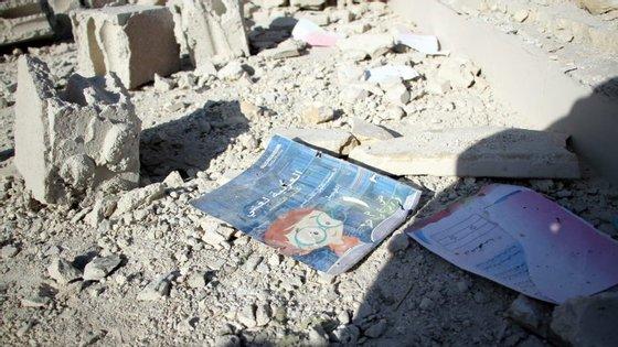 Segundo a Unicef os ataques mataram 22 estudantes e seis professores