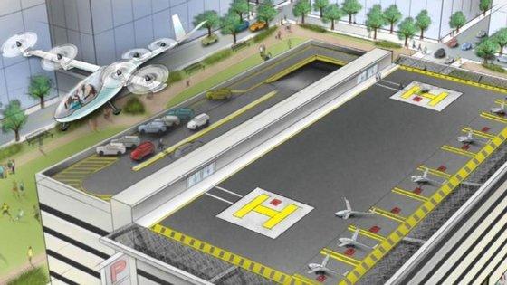 O objetivo deste projeto que está a ser produzido pela Uber é diminuir o congestionamento do trânsito nas grandes cidades