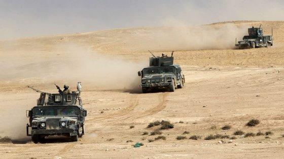 As forças iraquianas têm avançado rumo a Mossul, e já libertaram dezenas de aldeias