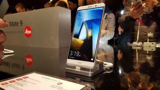 O Observador esteve em Munique para assistir à apresentação do Mate 9 da Huawei