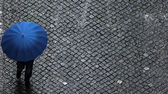 Chuvas e aguaceiros farão parte deste fim de semana.