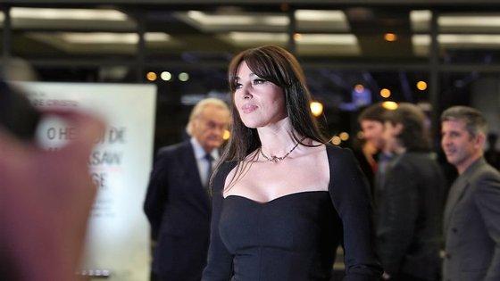 """""""Ao fim de 25 anos como atriz começo a perceber melhor aquilo que procurava"""", disse Monica Bellucci"""