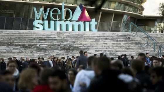 A Web Summit decorreu pela primeira vez em Lisboa entre 7 e 10 de novembro de 2016