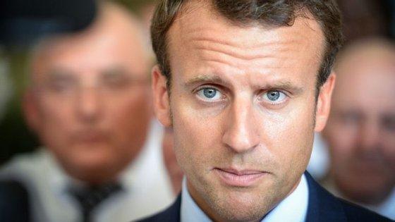 Macron foi ministro da Economia durante dois anos, entre agosto de 2014 e agosto de 2016