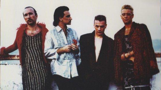 Os U2 em 1991