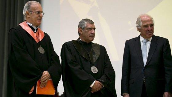Fernando Santos tornou-se, esta sexta-feira, no 10.º doutor 'honoris causa' da universidade transmontana