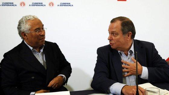 António Costa e Carlos César farão intervenções no encerramento das jornadas parlamentares