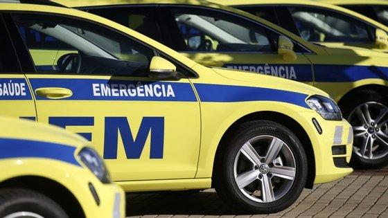 O acidente envolveu quatro viaturas ligeiras de passageiros que colidiram em circunstâncias ainda não esclarecidas