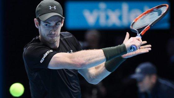 Andy Murray, que venceu ao terceiro 'match point', nunca tinha sequer jogado a final do 'Masters'