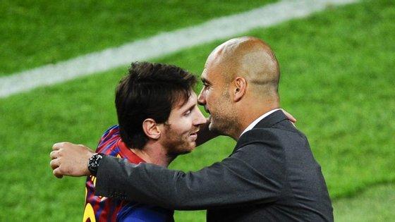 O reencontro entre Messi e Guardiola, na mesma equipa, poderá mesmo tornar-se uma realidade. Mas desta vez no Manchester City
