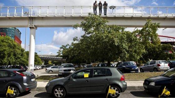 A rede de parques dissuasores em 2017 será alargada para fora do município de Lisboa