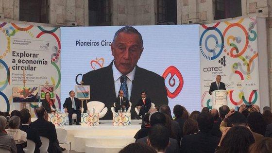 Marcelo Rebelo de Sousa, Presidente da República, discursou no encerramento da conferência.