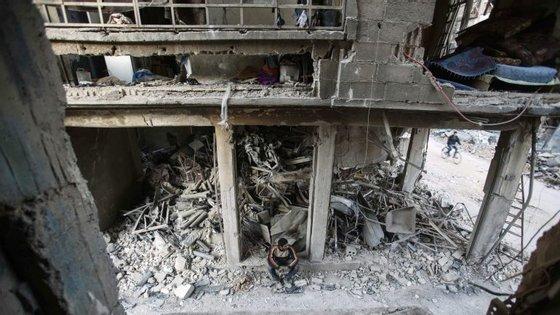 A República islâmica nega a presença de tropas do país na Síria