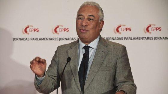 António Costa encerrou jornadas do PS na Guarda