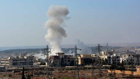 """O Pentágono já tinha anunciado a morte de Haydar Kirkan, apresentado como """"o mais alto responsável na Síria pela preparação de ataques"""""""