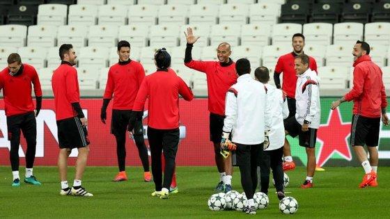 O Benfica joga esta quarta-feira com o Besiktas na quinta jornada do grupo B