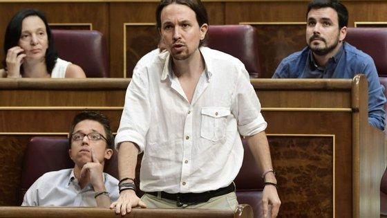 """Pablo Iglésias defendeu que fazia mais sentido """"homenagear as vítimas da pobreza do que a corrupção"""""""
