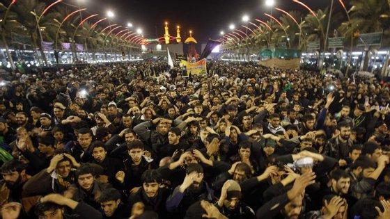A maior parte das vítimas tinha participado num ritual de peregrinação Arbaeen.