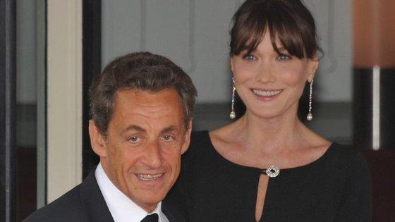 Será o início do fim do casamento entre o famoso casal Sarkozy e Bruni?