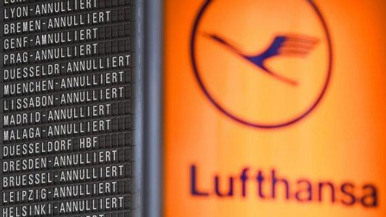 Cada dia de greve custa à Lufthansa cerca de 10 milhões de euros