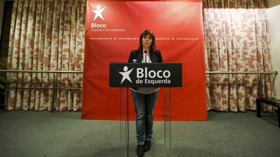 Catarina Martins falava no final da Mesa Nacional do BE, que este sábado reuniu em Lisboa