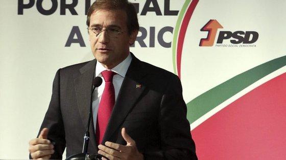 O líder do PSD falava na sessão de encerramento da Convenção Autárquica do PSD de Castelo Branco