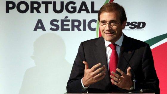 Passos Coelho disse que o primeiro-ministro e os ministros se têm furtado de a explicar ao país o que decidem