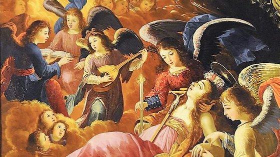 """""""Maria Madalena Confortada pelos Anjos"""", de 1679, pode ser vista no Louvre, em Paris, desde 24 de novembro"""