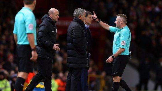 Foi o quarto empate consecutivo de Mourinho