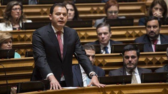 """""""O mais importante é garantir que o acordo de recapitalização não é afetado"""", sublinhou Galamba"""