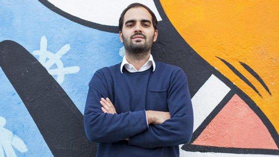 André Costa tem 27 anos e é o responsável pelo mercado português