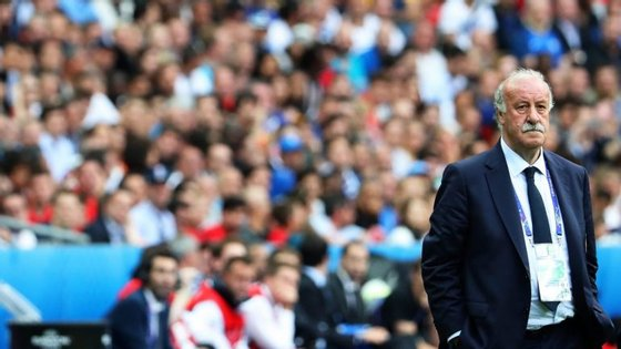 Del Bosque aponta Diego Simeone, técnico do Atlético de Madrid, para Melhor Treinador