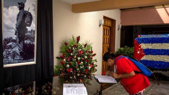 Cuba decretou nove dias de luto nacional pelo óbito de Fidel Castro