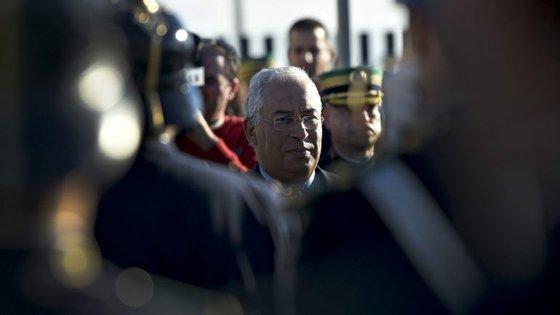 """António Costa lembrou a importância de Portugal continuar a ser considerado """"um dos países mais seguros"""""""