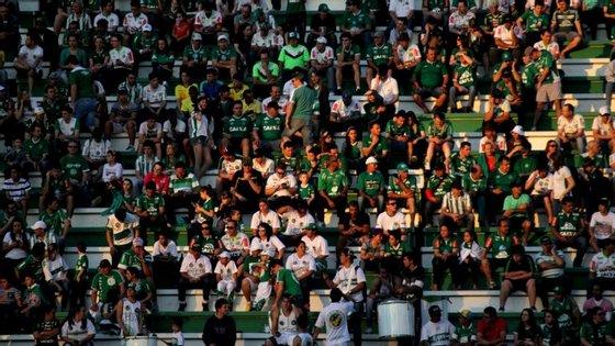 A cidade de Chapecó estava ao rubro com esta final, até porque o Chapecoense era a primeira equipa do estado de Santa Catarina a chegar a uma final internacional.