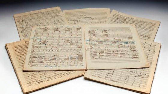 A partitura da Segunda Sinfonia de Mahler precisa de ultrapassar os 3,6 milhões de euros para ser considerada a mais cara a ser vendida num leilão