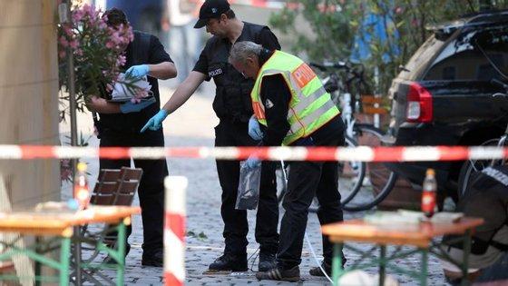 Ansbach foi um dos locais em que ocorreu um ataque terrorista na Alemanha