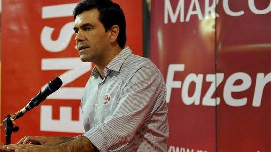Em 2013, Marco Almeida ficou a menos de dois mil votos do candidato vencedor Basílio Horta.