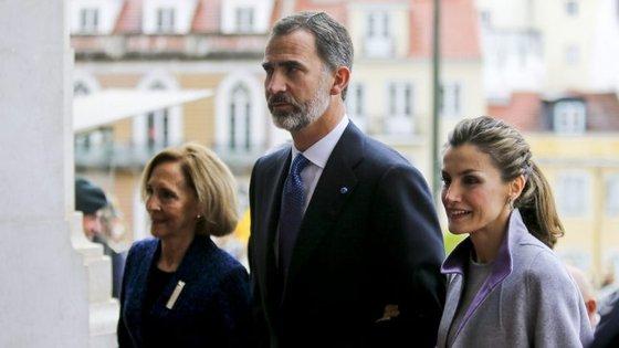 O chefe de Estado espanhol discursava na Assembleia da República numa sessão solene de boas-vindas por ocasião da visita de Estado de três dias a Portugal