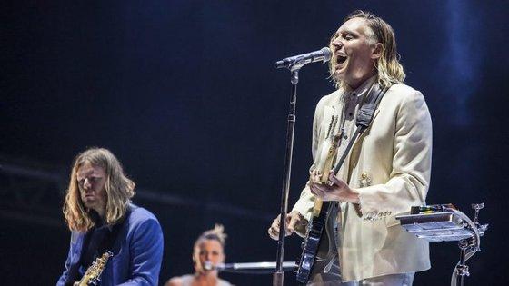 Os canadianos Arcade Fire passaram pelo NOS Alive deste ano