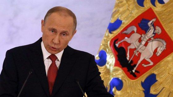 """""""Não queremos o confronto com ninguém, não precisamos"""", disse Putin"""