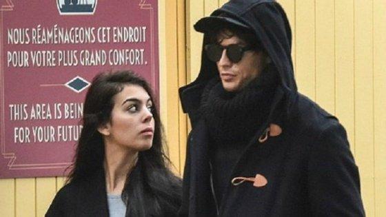 Da Gucci diretamente para a Prada... estes são os voos de Georgina, a nova namorada de Cristiano Ronaldo