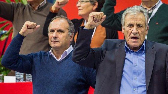 O Comité Central do PCP reelegeu por unanimidade Jerónimo de Sousa