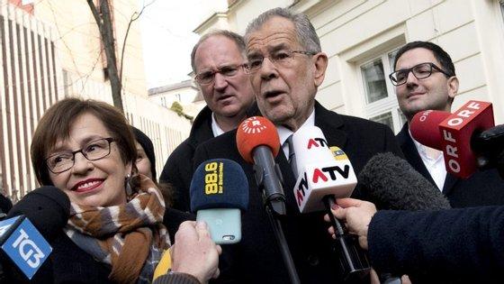 Van der Bellen venceu as presidenciais austríacas