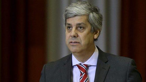 Centeno será um dos ministros convidados a explicar aos seus parceiros como tenciona o Governo português cumprir as metas