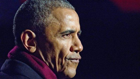 """Barack Obama referia-se à proposta feita por Donald Trump, de submeter os imigrantes de certos países a uma """"supervisão extrema"""" baseada em """"testes ideológicos"""""""