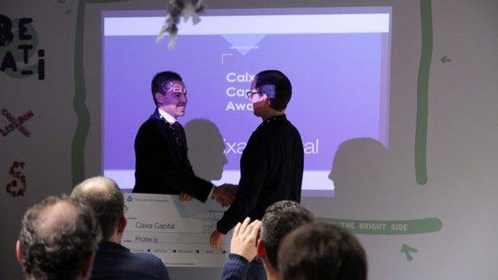 Startup recebeu um investimento de 75 mil euros da Caixa Capital, sociedade de capital de risco do banco público