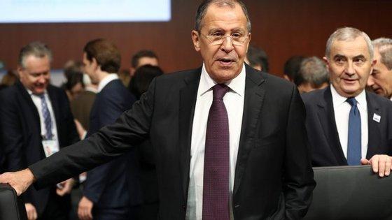 """""""Não sei se esta é a Europa que queremos"""", disse o chefe da diplomacia russa"""